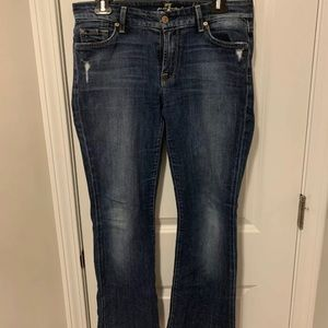 7 For All Mankind Kimmie Bootcut Jeans Women's 29